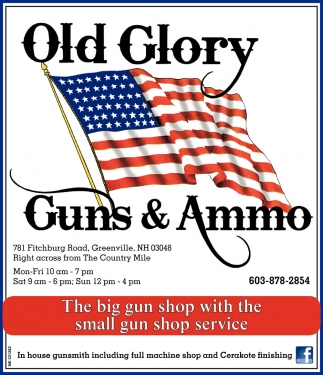 The Big Gun Shop With The Small Gun Shop Service