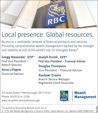 Local Presence. Global Resources.