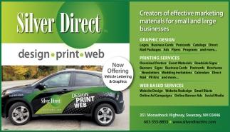 Design, Print, Web.