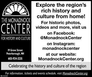 Celebrating The History And Culture Of The Region