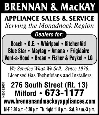 Serving Monadnock Region