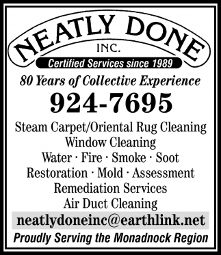 Certified Services Since 1989
