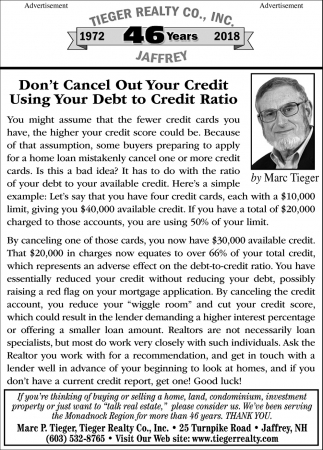 Don't Cancel Out Your Credit