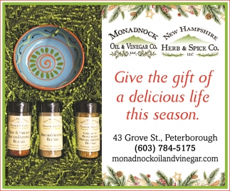 Give The Gift Of Delicious Life This Season