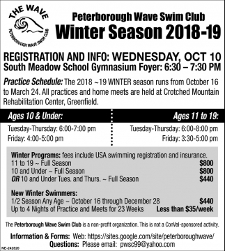 Winter Season 2018-19