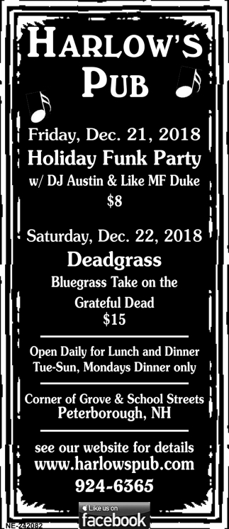 Holiday Funk Party