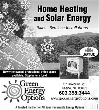 Home Heating And Solar Energy