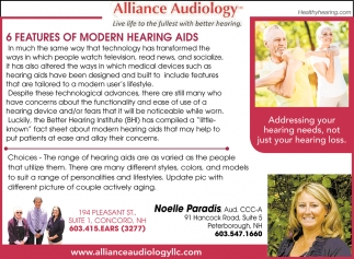 6 Features Of Modern Hearing Aids