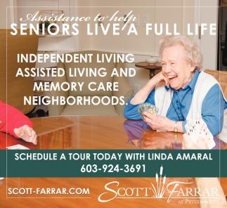 Seniors Live A Full Life