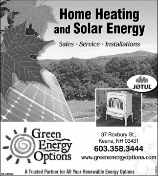 Home Heating And Sola Energy