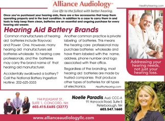 Hearing Aid Battery Brands