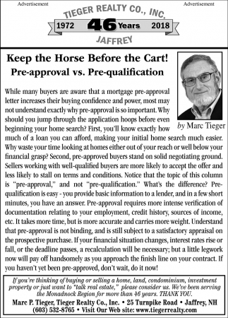 Keep The Horse Before The Cart!