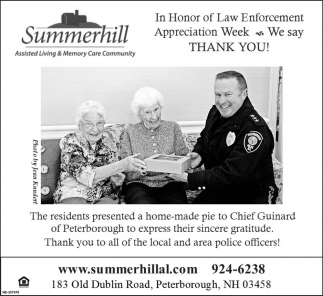 Law Enforcement Appreciation Week