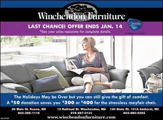 Last Chance! Offer Ends Jan, 14