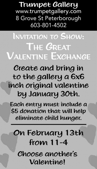 The Great Valentine Exchange