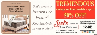 Tremendous Savings On Flooring Models