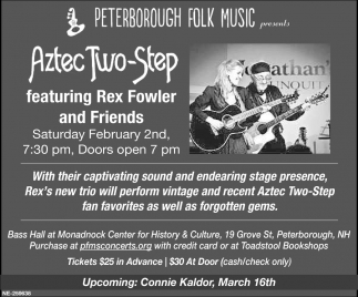 Aztec Two-Step Featuring Rex Fowler