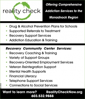 Recovery Community Center Services