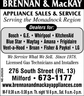 Serving The Monadnock Region