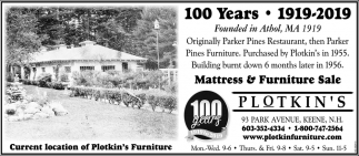 Mattress & Furniture Sale