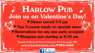Join Us On Valentine's Day!