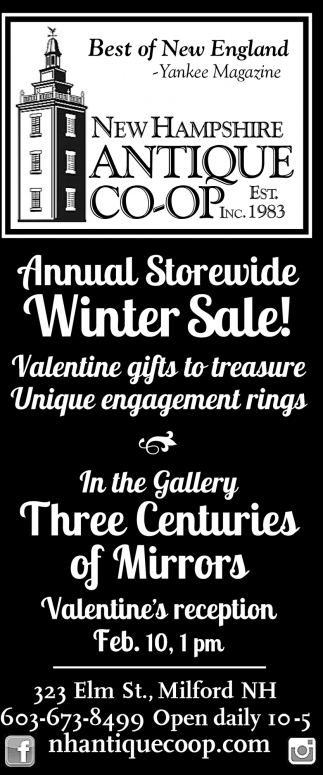 Annual Storewide Winter Sale!