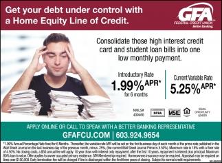 Get Your Debt Under Control