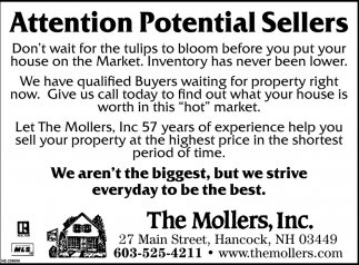 Attention Potential Sellers