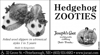 Hedgehog Zooties