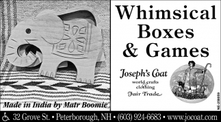 Whimsical Boxes & Games