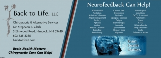 Neurofeedback Can Help!