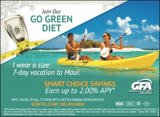 Join Our Go Green Diet