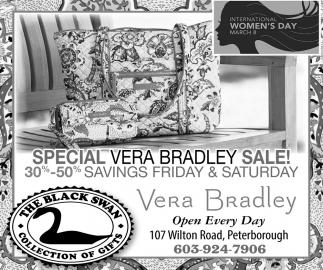 Special Vera Bradley Sale