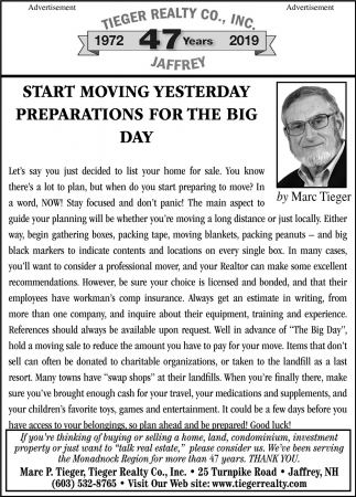 Start Moving Yesterday