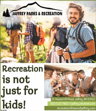 Recreation Is Not Just For Kids