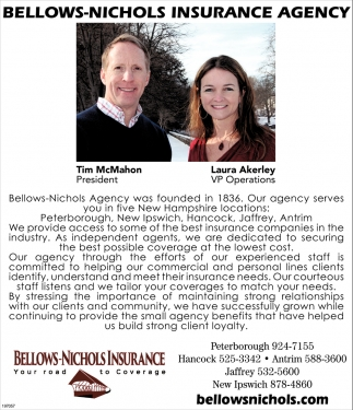 Bellows-Nichols Insurance Agency