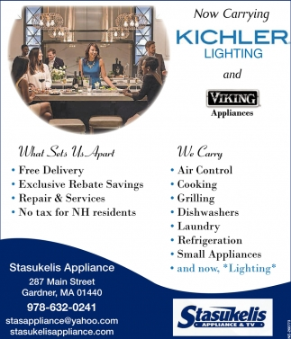 Now Carrying Kichler Lighting