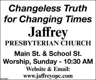 Changeless Truth For Changing Times