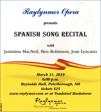 Spanish Song Recital