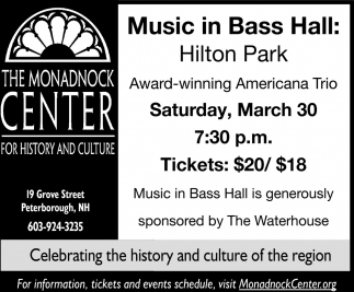 Music In Bass Hall