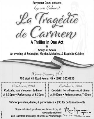 La Tragedie De Carmen