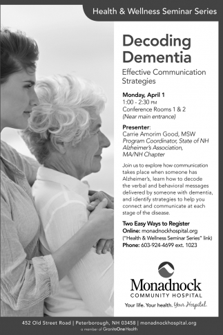 Decoding Dementia