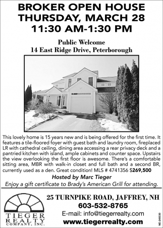 Broker Open House