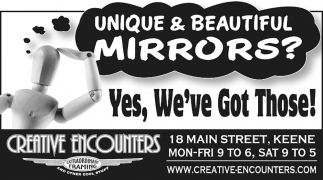 Unique & Beautiful Mirrors?