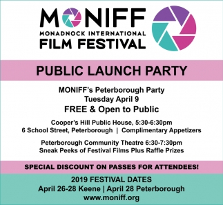 Public Launch Party