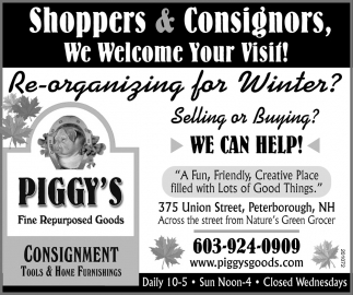 Shoppers & Consignors